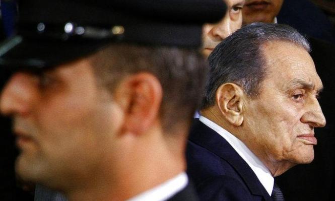أحدث صورة لمبارك في عيد ميلاده الـ 91