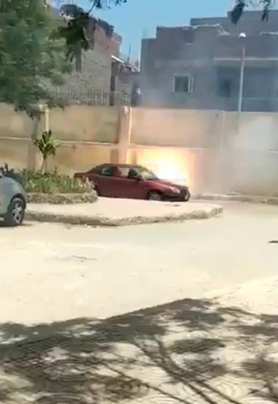 انفجار سلك كهرباء داخل جامعة الزقازيق