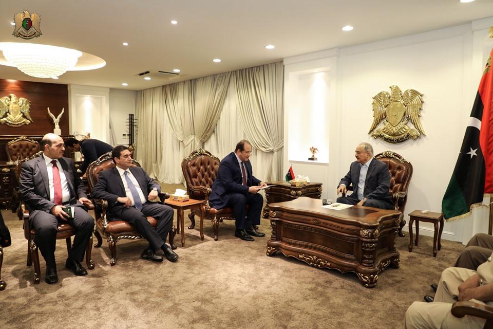 رئيس المخابرات العامة يزور ليبيا