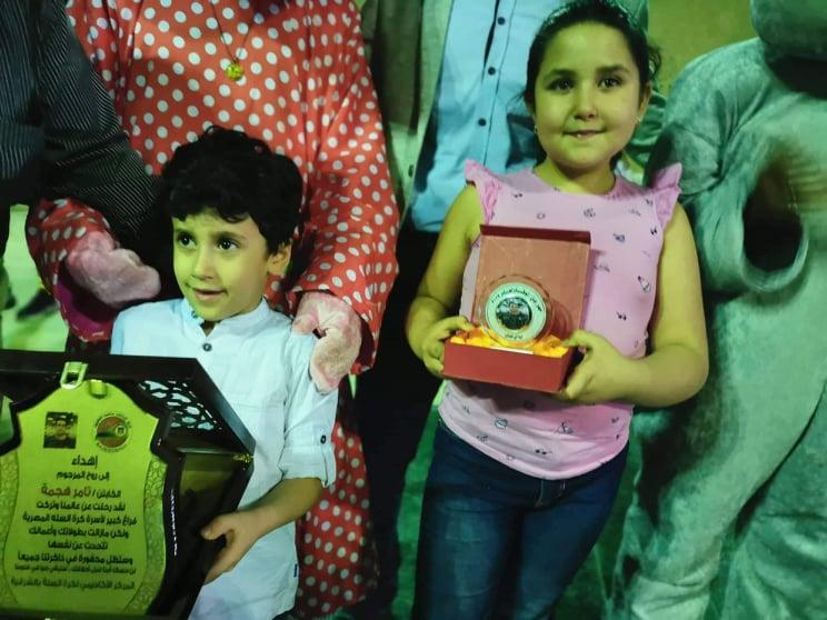 ناصر تكرم اسم اللاعب الراحل تامر هجمة في كأس بطولة لكرة السلة بالشرقية1.3