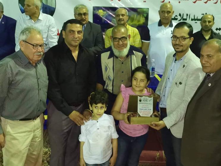 ناصر تكرم اسم اللاعب الراحل تامر هجمة في كأس بطولة لكرة السلة بالشرقية18