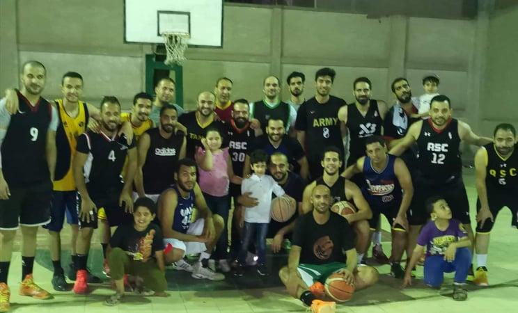 ناصر تكرم اسم اللاعب الراحل تامر هجمة في كأس بطولة لكرة السلة بالشرقية9