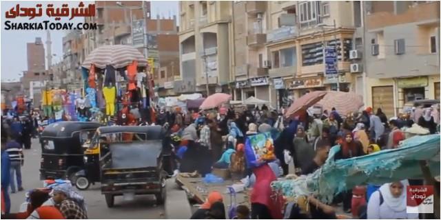 شكوى أهالي ديرب نجم من سوق المواشي