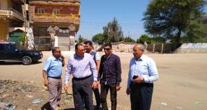 محافظ الشرقية يشدد على رصف طريق طاهرة حميد أنشاص