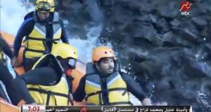 مصطفى حجاج ضحية رامز في الشلال