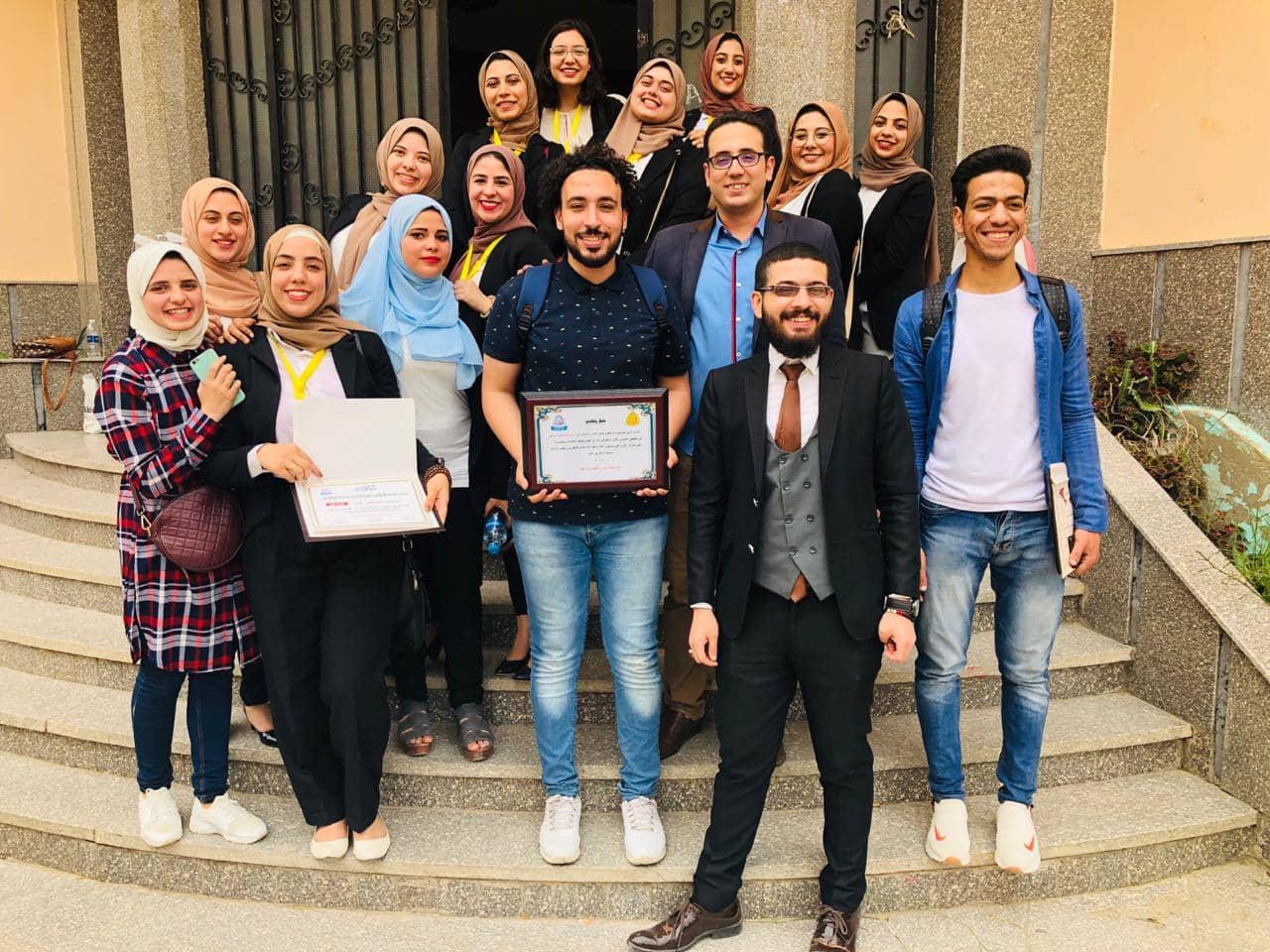 فيلم «هيلا» يحصل على المركز الأول في مشروعات شعبة إذاعة بإعلام الزقازيق