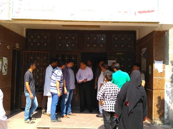 إقالة مدير مستشفى أبو حماد