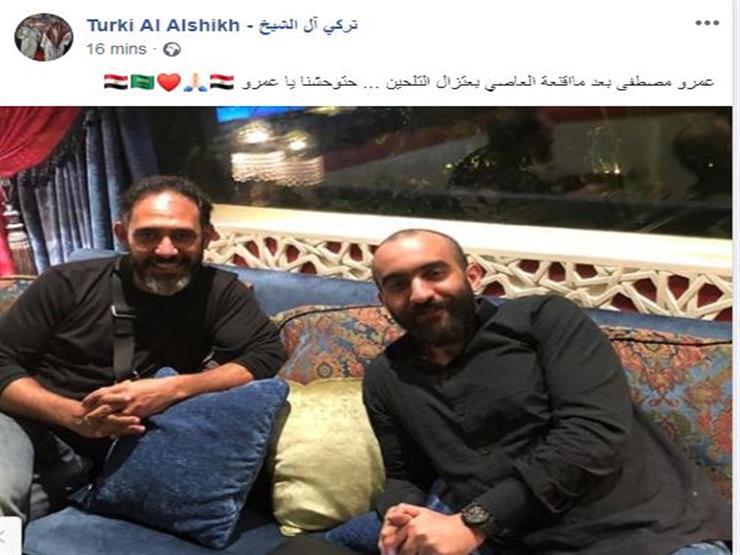 تركي آل الشيخ على فيس بوك