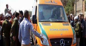 إصابة 8 أشخاص في حادث تصادم بالشرقية