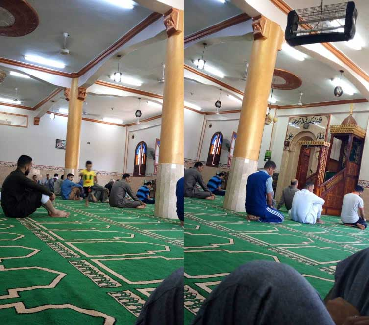 صلاة الجمعة بدون خطيب بأحد مساجد الزقازيق