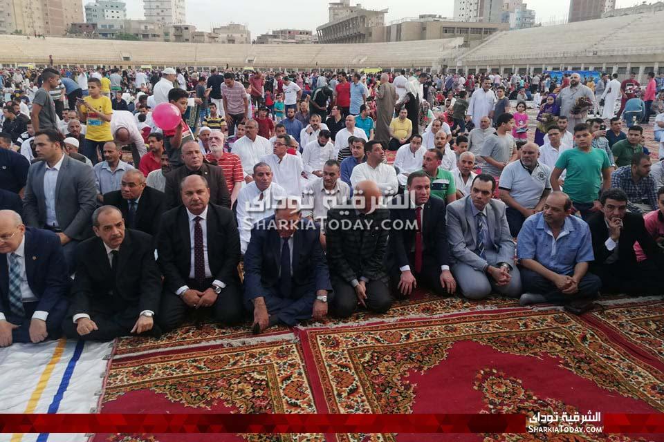 صلاة العيد في الزقازيق بحضور مدير الأمن ومحافظ الشرقية