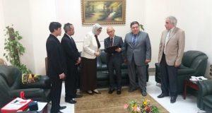 وفد إندونيسي في زيارة لجامعة الزقازيق