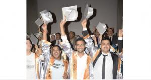طلاب كلية التكنولوجيا والتنمية بجامعة الزقازيق