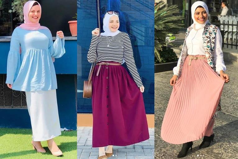جيبات سادة موضة صيف 2019