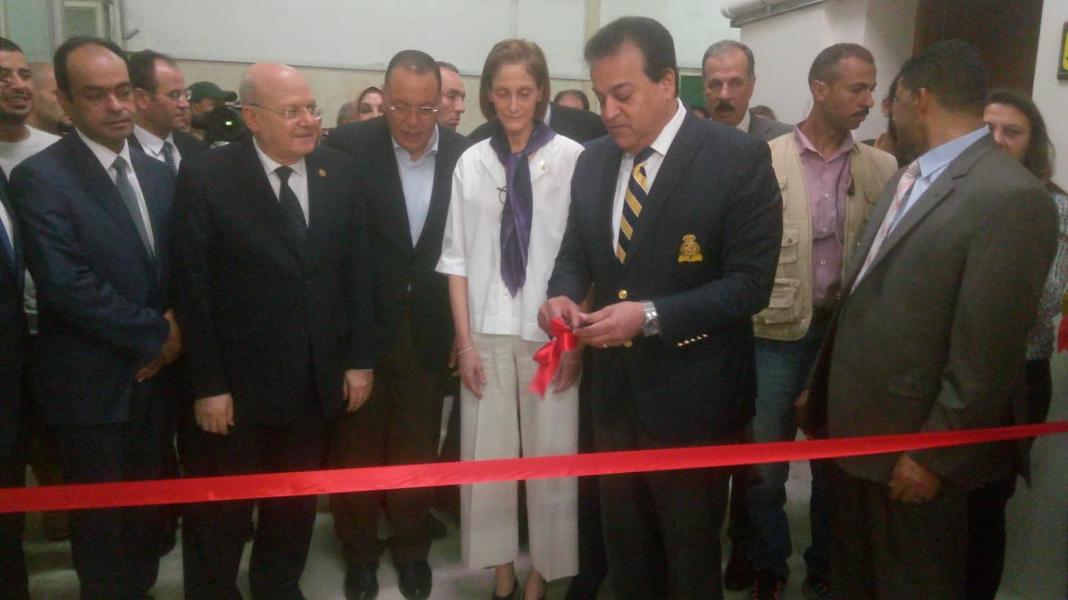 التعليم العالي يفتتح مراكز التطوير المهني بجامعة الزقازيق 2