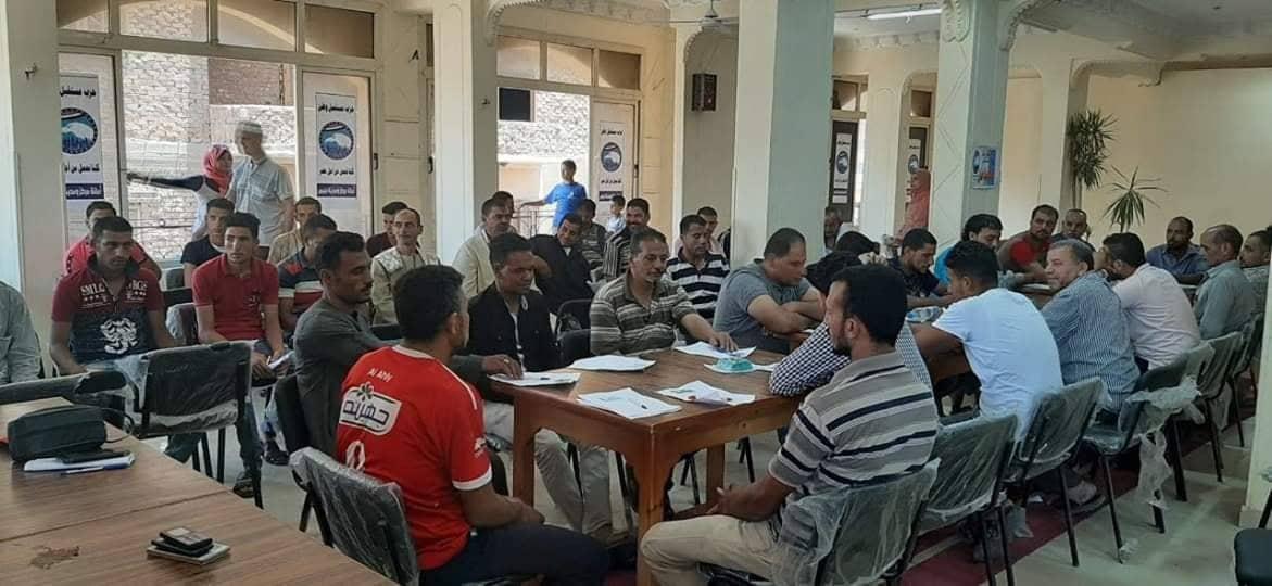 80 دارسا يشاركون في اختبارات محو الأمية بحزب مستقبل وطن بالشرقية