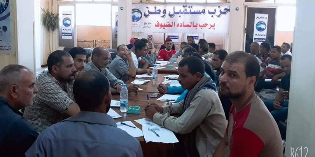 80 دارسا يشاركون في اختبارات محو الأمية بحزب مستقبل وطن بالشرقية2