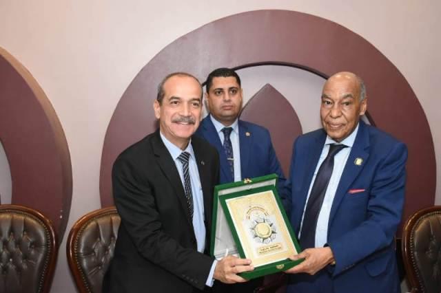 افتتاح المقر الجديد لفرع هيئة قضايا الدولة الزقازيق