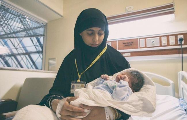 أول مولود في موسم الحج هذا العام