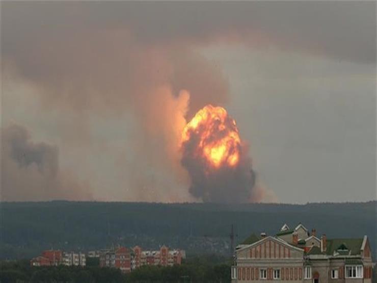 انفجار روسيا