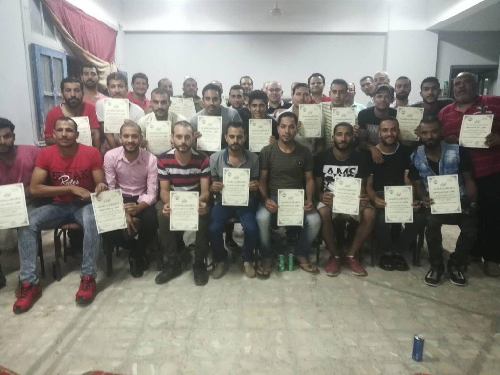 فريق مركز شباب ناصر لكرة الصم والبكم